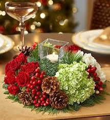Very Merry Modern Centerpiece We've put a truly original twist on a  traditional centerpiece  Modern christmas trees