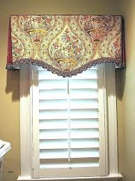 custom window valances. Bathroom Custom Window Valances