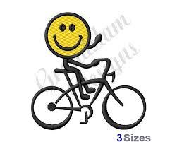 Bildergebnis für smiley bilder mit fahrrad