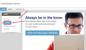 elan credit card login