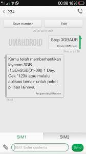 Stop(spasi)au2.5gb tanpa tanda petik lalu anda kirim ke nomor 234. Cara Stop Berlangganan Paket Harian 3 Tri 3gb Rp3000 Terbaru Umahdroid