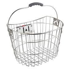 SUNLITE Basket Front Wire Q/R Ss 15.5X10.75X8.75 W/Bracket - TS-310NF