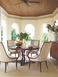 round cherry traditional dining furniture sets with 5 pieces