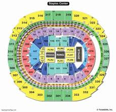 Staples Center Seating Chart Row Numbers Staples Center