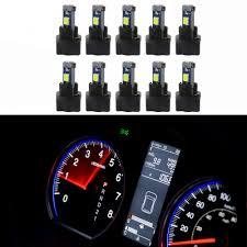 Us 9 91 38 Off Wljh 10x T5 Wedge 37 73 Led Bulbs Pc74 Twist Socket Gauge Instrument Panel Dash Light Indicator Lamp Bulb For Subaru In Signal Lamp