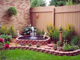 Small Picture fabulous small backyard water feature ideas garden design garden