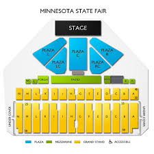 Mn State Fair Grandstand Seating Chart Minnesota State Fair Tickets