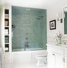 Tips For Small Bathrooms Narrow Bathroom And Glass Doors - Small bathroom with tub