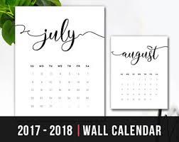 monthly calendar 2018 printable calendar 2018 wall calendar