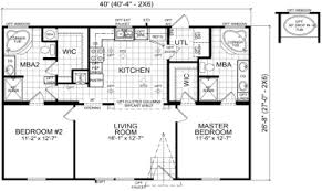 double wide mobile home floor plans. Modren Plans Emory  2 Beds  Baths 1067 SqFt 28 X 40 Double Wide Intermediate  Priced Homes With Mobile Home Floor Plans B