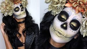 7 gorgeous dia de los muertos makeup ideas easy day of the dead sugar skull tutorials