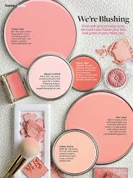 coral paint colorBetter Homes and Gardens January 2014 Paint Palette  Were