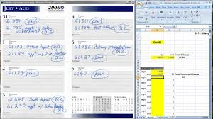 driving log template the easiest way to keep a mileage log for tax deductions youtube