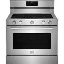 frigidaire gallery 40 in 6 4 cu ft single oven electric range with self