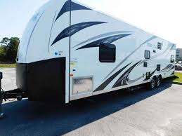2016 used forest river work and play 30wrs 10 garage generator fuel station toy hauler in florida fl