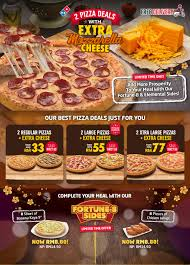 get more huat with domino s pizza cheesiest deal in town