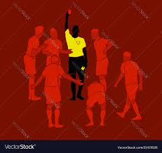 Referee Design Soccer Referee Yellow Red Cards Design Wallpaper