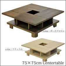 75x75cm table 100x55cm table