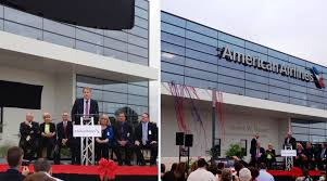American Airlines CEO still is considering a HQ move but will
