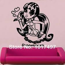 monster wall decal wall decal monster high wall decals for girl monster high fathead monster high