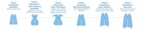 36 Paradigmatic Halo Sleep Sack Size Chart