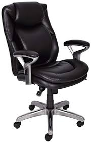Serta Air Health And Wellness MidBack Office Chair Black