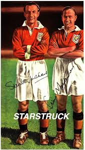 Blackpool FC Legends Stanley Matthews and Stan Mortensen Signed  (Pre-Printed) Exclusive A4 Print: Amazon.co.uk: Sports & Outdoors