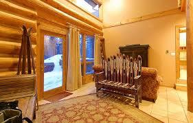 Standing Ski Coat Rack Ski House Decorated by Vintage Winter VintageWinter 41