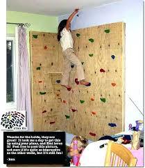 diy climbing wall build a
