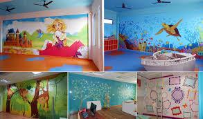 kids bedroom painting