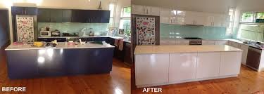 steps to kitchen cabinet resurfacing bench top restoration