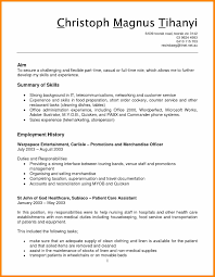 Collection Of Solutions Sample Resume For Customer Service In