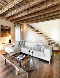interior design ideas exposed wood beams