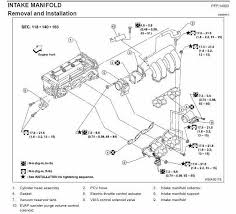 qr25de precat and butterfly screw faq nissan sentra forum b15 below is a diagram from the fsm which includes torque specs for all the bolts and screws