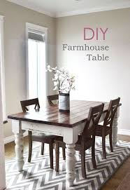 dining room table diy farmhouse kitchen table i heart nap time