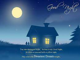 Good night messages ...