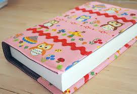 sew a fabric book cover