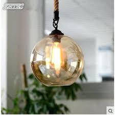 glass pendant lighting loft rope retro lighting bar restaurant lights living room clothing glass pendant glass pendant lighting