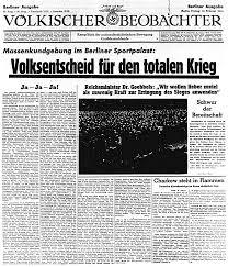 「1943 sportpalastrede」の画像検索結果