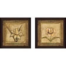tulip bronze wall art set of 2 matching set on matching wall art pictures with shop tulip bronze wall art set of 2 matching set on sale free