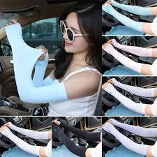 <b>1 Pair Men Women</b> Arm Sleeves Summer Sun UV Protection ...