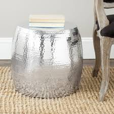 glass silver side table round glass living room table glass top coffee table black metal coffee table white coffee table set