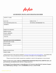 Form Samples Travel Registration Template Inspirational Best Of