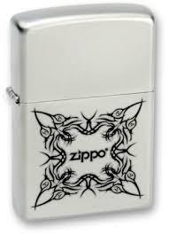 <b>Зажигалка Zippo 205 Tattoo Design</b> Satin Chrome&trade