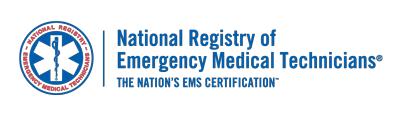 Volunteer Certificates National Registry Of Emergency Medical Technicians