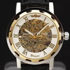 discount best skeleton watches men 2017 best skeleton watches whole 2015 new winner brand clock classic leather skeleton men mechanical fashion hand wind wirst watch best gift best skeleton watches men deals