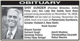 Newspaper Obituary Template Obituary Ads In Newspaper Newspaper Obituaries In Delhi Mumbai