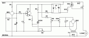 ac motor speed control circuit diagram ireleast info ac motor speed controller wiring circuit