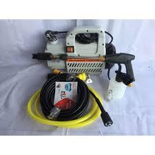 Máy rửa xe áp lực cao ERGEN 6708 Máy rửa xe mini gia đình công suất 2300W  moter lõi đồng cảm ứng từ tự động hút và ngắt chính hãng 1,449,000đ