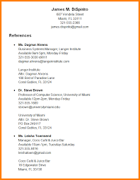 How To Type References For Resume Should You Include References On Your Resume Resume